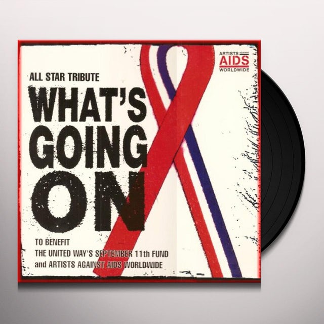 What'S Going On: All-Star Tribute (X4) / Various Vinyl Record