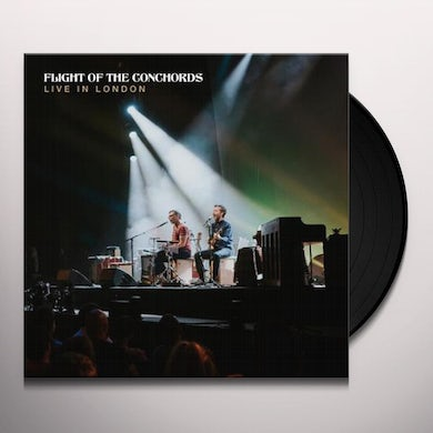 Flight Of The Conchords LIVE IN LONDON Vinyl Record