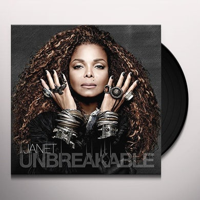 Janet Jackson UNBREAKABLE Vinyl Record