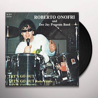 Roberto Onofri / Dj Prog Band LET'S GO OUT Vinyl Record