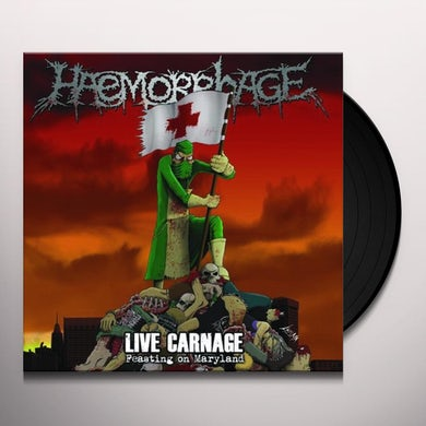 LIVE CARNAGE: FEASTING ON MARYLAND Vinyl Record