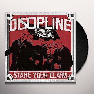 Discipline STAKE YOUR CLAIM Vinyl Record