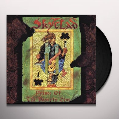 Skyclad PRINCE OF THE POVERTY LINE Vinyl Record