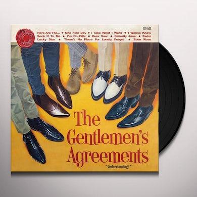 Gentlemen'S Agreements UNDERSTANDING! Vinyl Record