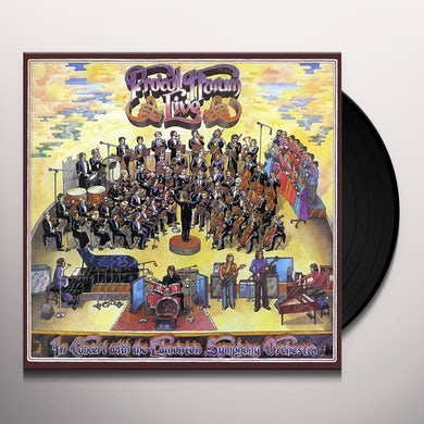 Procol Harum LIVE: IN CONCERT WITH EDMONTON SYMPHONY ORCHESTRA Vinyl Record