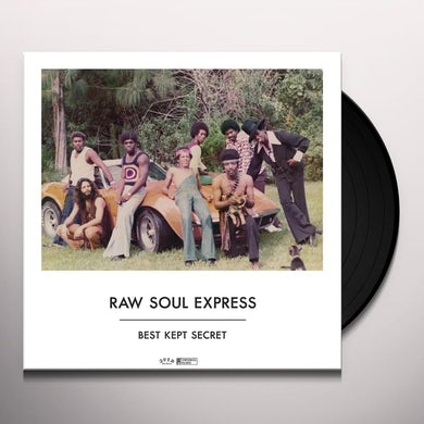 Raw Soul Express BEST KEPT SECRET Vinyl Record
