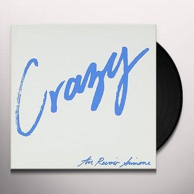 Au Revoir Simone CRAZY/SOMEBODY WHO Vinyl Record