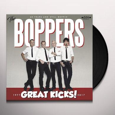 Boppers GREAT KICKS Vinyl Record