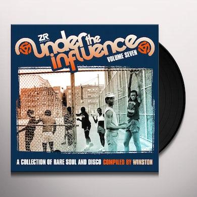 Winston UNDER THE INFLUENCE VOLUME SEVEN Vinyl Record