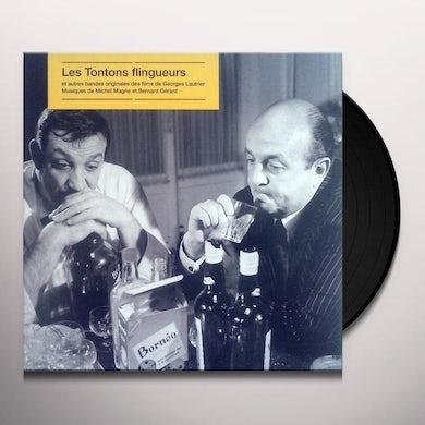 LES TONTONS FLINGUEURS (ET AUTRES FILMS DE GEORGES LAUTNER) Original Soundtrack (IMPORT) Vinyl Record