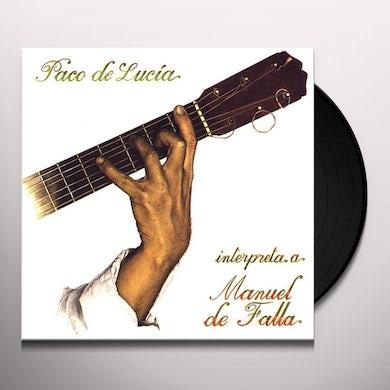 INTERPRETA MANUEL DE FALLA Vinyl Record