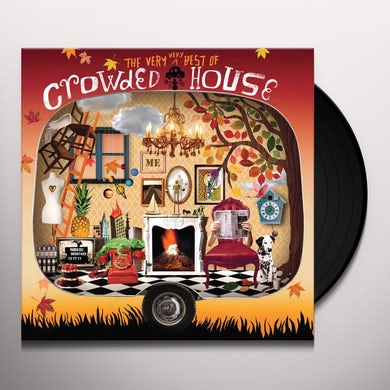 The Very Very Best Of Crowded House (2 LP) Vinyl Record
