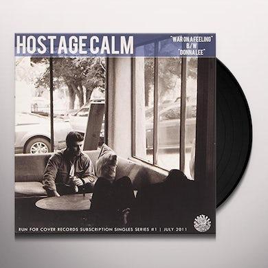 Hostage Calm WAR ON A FEELING Vinyl Record