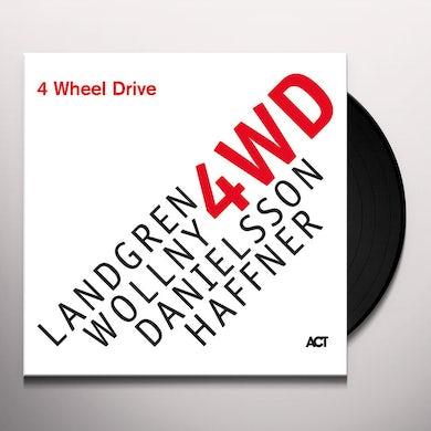 Michael Wollny / Nils Landgren / Wolfgang Haffner FOUR WHEEL DRIVE Vinyl Record