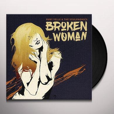 Ruby Velle & Soulphonics BROKEN WOMAN / FORGIVE LIVE REPEAT Vinyl Record
