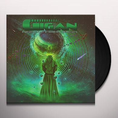 Gigan UNDULATING WAVES OF RAINBIOTIC IRIDESCENCE Vinyl Record