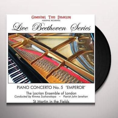 Sushananskaya & Locrian Ensemble Of London PIANO CONCERTO 5 EMPEROR Vinyl Record
