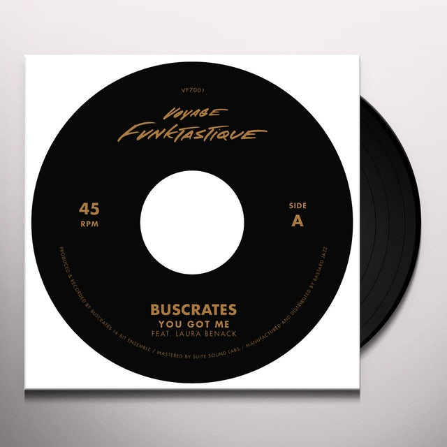 Buscrates / Dr. Mad / Illa J YOU GOT ME / MAYBE IT'S TIME Vinyl Record