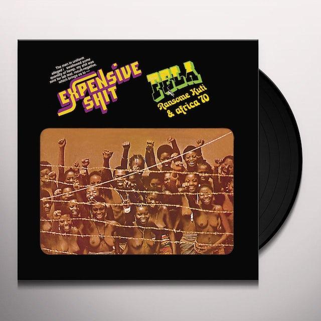 Fela Kuti EXPENSIVE SHIT Vinyl Record