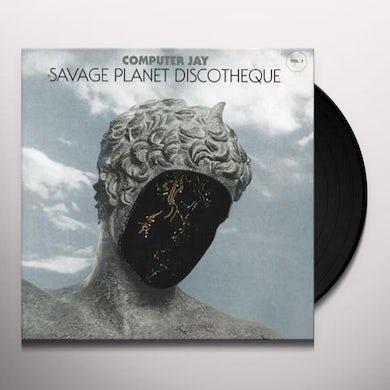 Computer Jay SAVAGE PLANET DISCOTHEQUE 1 (EP) Vinyl Record
