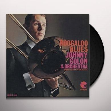 Johnny Colon BOOGALOO BLUES Vinyl Record