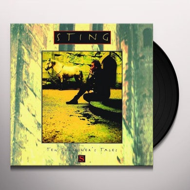 Sting TEN SUMMONER'S TALES Vinyl Record
