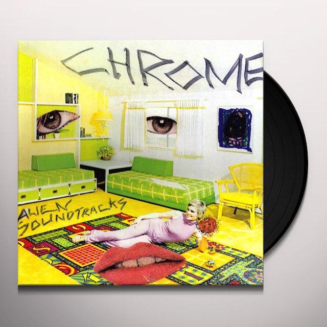 Chrome ALIEN SOUNDTRACKS Vinyl Record
