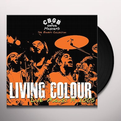 Living Colour CBGB OMFUG MASTERS: AUGUST 19 2005 BOWERY Vinyl Record