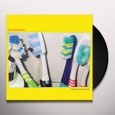 Paranoyds CARNAGE BARGAIN Vinyl Record