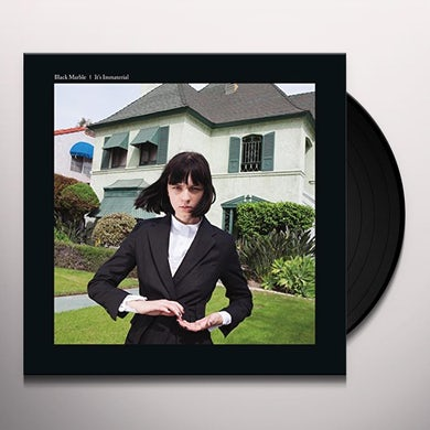 Black Marble IT'S IMMATERIAL: LIMITED Vinyl Record