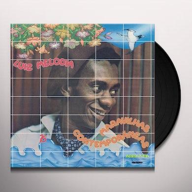 Luiz Melodia MARAVILHAS CONTEMPORANEAS Vinyl Record