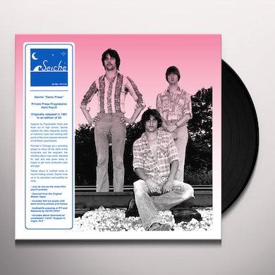 Seiche DEMO PRESS (DL/FOLD OUT POSTER) Vinyl Record