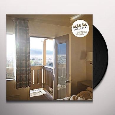Amatorski HEAR ME (JULIA HOLTER REMIX) Vinyl Record