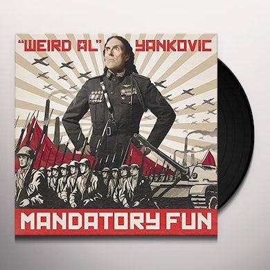Weird Al Yankovic MANDATORY FUN Vinyl Record