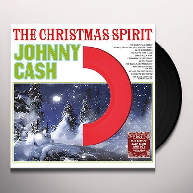 Johnny Cash CHRISTMAS SPIRIT Vinyl Record