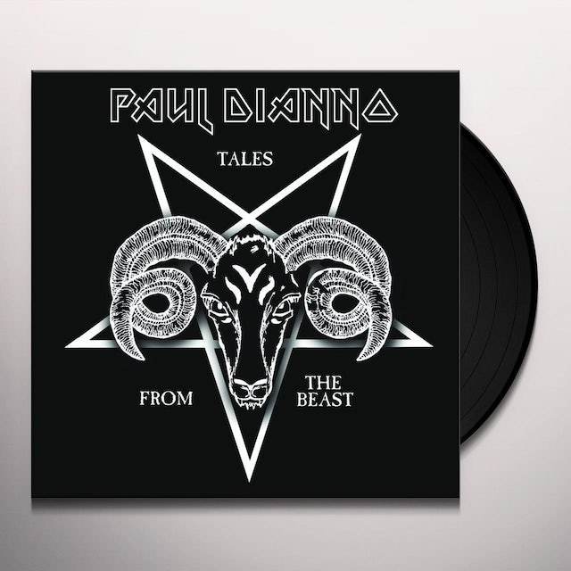 Paul Dianno TALES FROM THE BEAST Vinyl Record