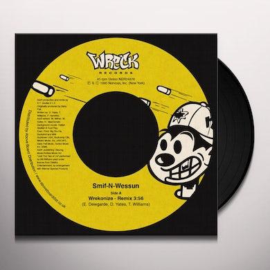 Smif-N-Wessun WREKONIZE (REMIX) Vinyl Record