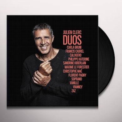 Julien Clerc DUOS Vinyl Record