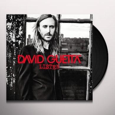David Guetta LISTEN Vinyl Record