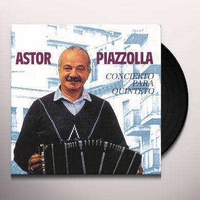 Astor Piazzolla CONCIERTO PARA QUINTETO Vinyl Record
