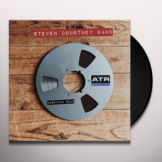 Steven Courtney AMERICAN ROAD Vinyl Record