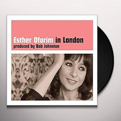Esther Ofarim IN LONDON Vinyl Record
