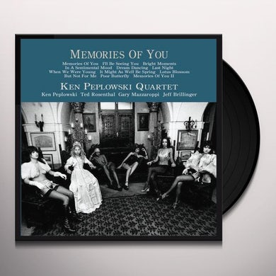 Ken Peplowski MEMORIES OF YOU 2 Vinyl Record