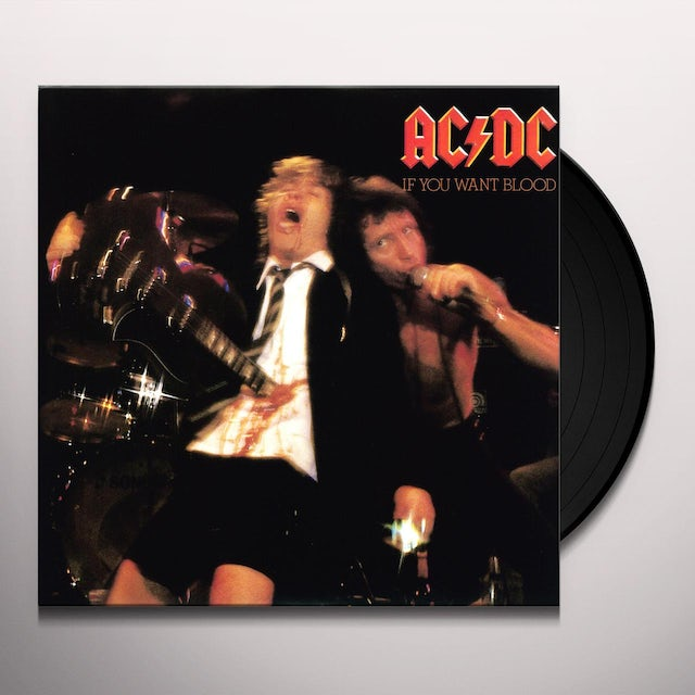 AC/DC IF YOU WANT BLOOD Vinyl Record