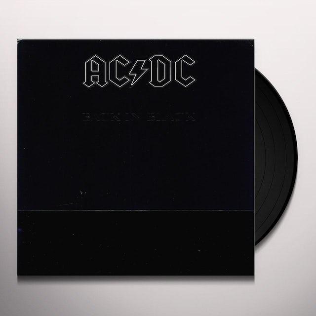 AC/DC BACK IN BLACK Vinyl Record