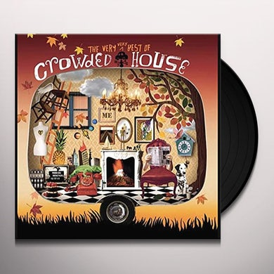 VERY VERY BEST OF CROWDED HOUSE Vinyl Record
