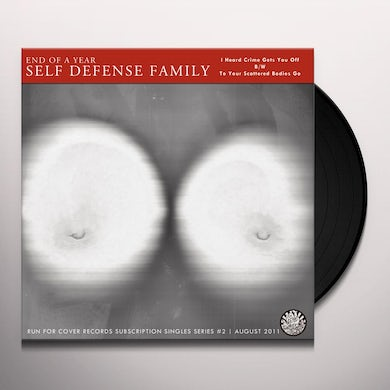 End Of A Year Self Defense Family I HEARD CRIMES GET YOU OFF Vinyl Record