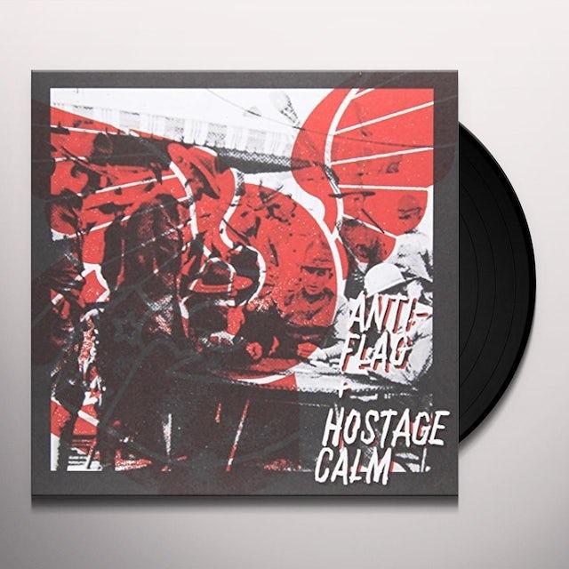 Hostage Calm / Anti-Flag SPLIT Vinyl Record