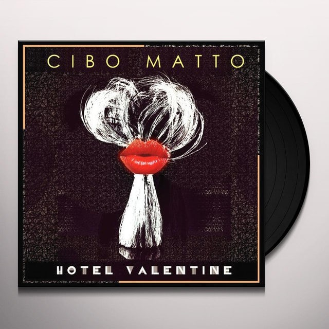 Cibo Matto HOTEL VALENTINE Vinyl Record