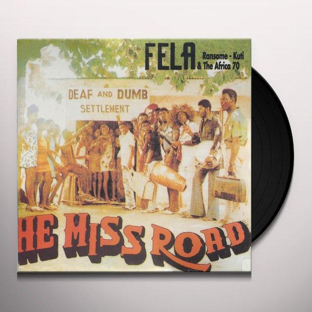 Fela Kuti HE MISS ROAD Vinyl Record